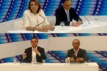DEBATE TV MASTER: Candidatos de oposição atacam Cartaxo que se mantém na defesa