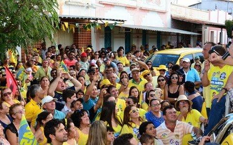 MEMÓRIAS DAS ELEIÇÕES – SOBRADO – Comício político em Sobrado PB 2014