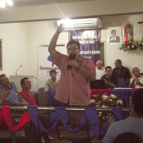 MEMÓRIAS DAS ELEIÇÕES – MONTEIRO – Homologação da candidatura do Hugo e Valdinha (2012)