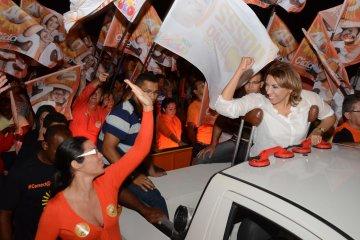 """Cida Ramos demonstra entusiasmo com números: """"Serei prefeita dessa cidade"""""""