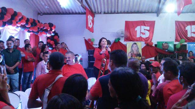 Convenção do PMDB oficializa Rossélio e Fátima