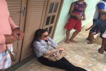 Empresária protesta contra gestão de Nova Floresta e inicia greve de fome