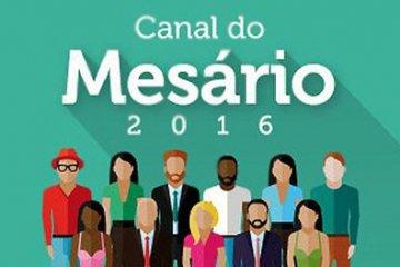 Convocação de mesários para as eleições de outubro começa 13 de junho
