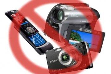 Celular e máquina fotográfica são proibidos na cabina de votação