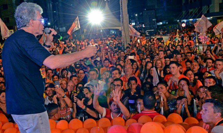 GIRASSOCA: Ricardo afirma que nunca ganhou uma pesquisa, mas sempre venceu as eleições