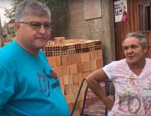Vídeo: Candidato, prefeito agride equipe de TV de adversário com socos e chutes