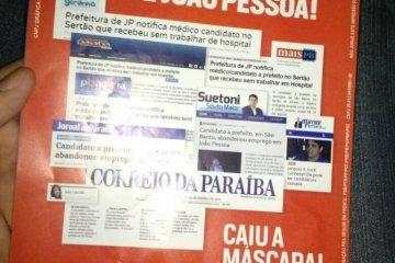 JUIZ MANDA APREENDER PANFLETO EM SÃO BENTO: Panfletos apócrifos estavam em helicóptero no aeroporto de Patos