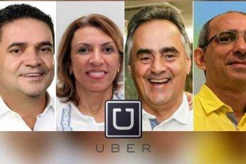 Candidatos a prefeitura de João Pessoa se dividem sobre chegada do UBER