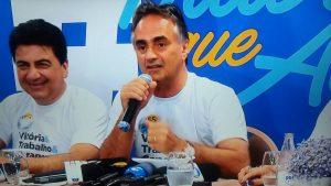 "Cartaxo comemora vitória, enaltece vice e diz que JP será ""destaque nacional"""