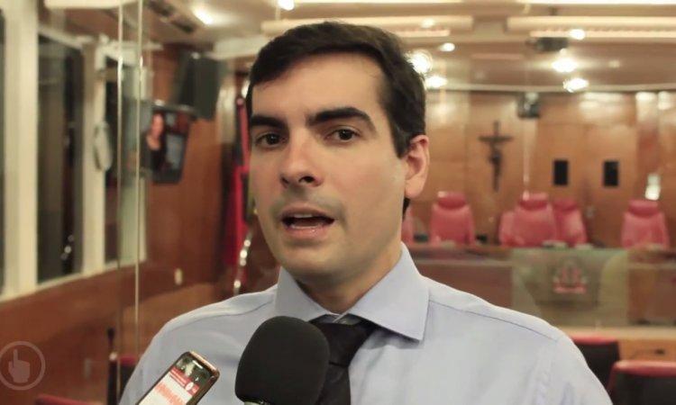 Veja vídeo: Vereador Lucas de Brito revela que pretende disputar presidência da CMJP